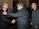 Saludo del Presidente Mujica a ex Presidente Vázquez