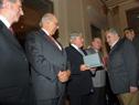 Condecoración a ex Presidente Lacalle por parte de Presidente Mujica