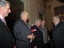 Presidente Mujica y ex Presidentes de la República