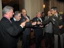 Brindis de Presidente, ex Presidentes y General del Ejército
