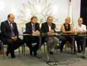 Fernando Sobral, Sebastián Bauzá, Héctor Lescano, Liliam Kechichián, Ernesto Irureta.