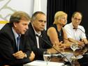 Presidente de la AUF, Sebastián Bauzá, haciendo uso de la palabra.