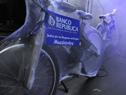 Una de las bicicletas donadas