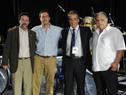 Jorge Ferrando, Diego Cánepa,  Roberto Borreli y Juan Muzzi