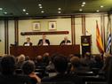Director de la DGI, Pablo Ferreri y público presente