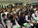 Presidente Mujica recibió a niños que participan en campaña contra el trabajo infantil