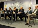 El presidente de la Agencia de Compras y Contrataciones del Estado, José Clastornik, hace uso de la palabra.