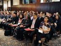 Delegaciones en la conferencia.
