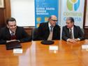 Yamandú Orsi, Marcos Carámbula, José Luis Juárez, y Marcelo Dominguez.