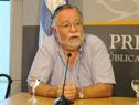 Ministro de Trabajo, José Bayardi