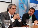 Presidente de la RED-SNIP, Miguel Hernández, director de OPP, Gabriel Frugoni