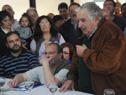 El Presidente de la República, José Mujica, hace uso de la palabra.