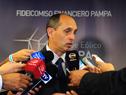 Presidente de UTE, Gonzalo Casaravilla en declaraciones a la prensa