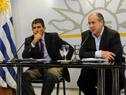 Conferencia de prensa. Raúl Sendic, Ernesto Murro