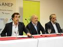 Miguel Brechner, Wilson Netto, y Néstor Pereira.