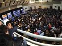 Vista aérea de la Sesión abierta del Consejo de Ministros en Dolores, Soriano