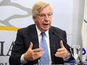 Ministro de Economía, Danilo Astori en conferencia de prensa