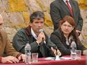 Vicepresidente Raúl Sendic, dirigiéndose a los asistentes a la celebración