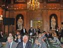 Tabaré Vázquez, en la exposición brindada ante la Academia de Ciencias de París