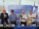 La localidad Piedras Coloradas recibió al Consejo de Ministros