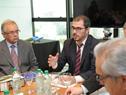 Prosecretario de Presidencia de la República, Juan Andrés Roballo, encabezó la reunión de la Reunión de la Junta Nacional de Emergencias