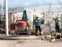 Reconstrucción de casas de la Ciudad de Dolores