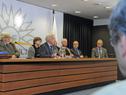 Ministro de Economía y Finanzas, Danilo Astori, haciendo uso de la palabra