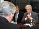 Presidente Tabaré Vázquez se dirige a su par alemán