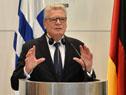 Presidente Joachim Gauck se dirige a los presentes en la conferencia