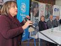 Directora General de ANEP, Irupé Buzzetti se dirige a los presentes