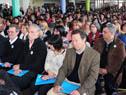 Asistentes a la inauguración del curso