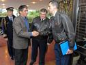 Vicepresidente Raúl Sendic llega a la Base Aérea Nro. 1