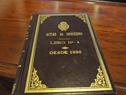 Libro de Actas de Gobierno