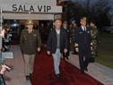 Llegada de Presidente de la República, Tabaré Vázquez, a la Base Aérea Nro. 1