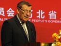 Presentación del ministro de Relaciones Exteriores, Rodolfo Nin Novoa, en cena en el marco del China-LAC