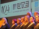 Coro de funcionarios de UTE