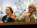 Consejero de la Universidad Tecnológica,  Roberto Markarián se dirige a los presentes