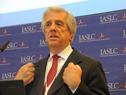 Vázquez durante la conferencia de prensa