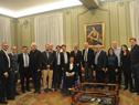Vázquez rodeado de compatriotas radicados en Francia