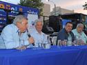 Presidente de Cutcsa, Juan Salgado, haciendo uso de la palabra