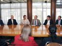 Homenaje a Carlos Caballero realizado por el Ministerio de Relaciones Exteriores y el Ministerio de Turismo