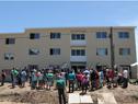 Inauguración de complejo de viviendas en Toledo