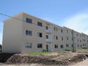 Vecinos se acercan a la inauguración de complejo de viviendas en Toledo