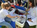 Jornada de donación de sangre del Servicio Nacional de Sangre