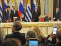 Firma de acuerdos bilaterales por parte de ministros de ambos países