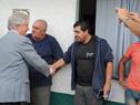Presidente Vázquez saluda a habitantes de Juan Lacaze