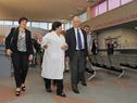 Visita de autoridades del MSP al Hospital de Canelones