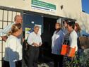 Ministra de Turismo. Liliam Kechichian, junto a su equipo de trabajo recibió a ciudadanos canarios
