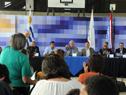 Vecina del Balneario San Luis, pide la palabra para realizar una pregunta