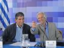 Presidente Tabaré Vázquez, junto a Vicepresidente Raúl Sendic